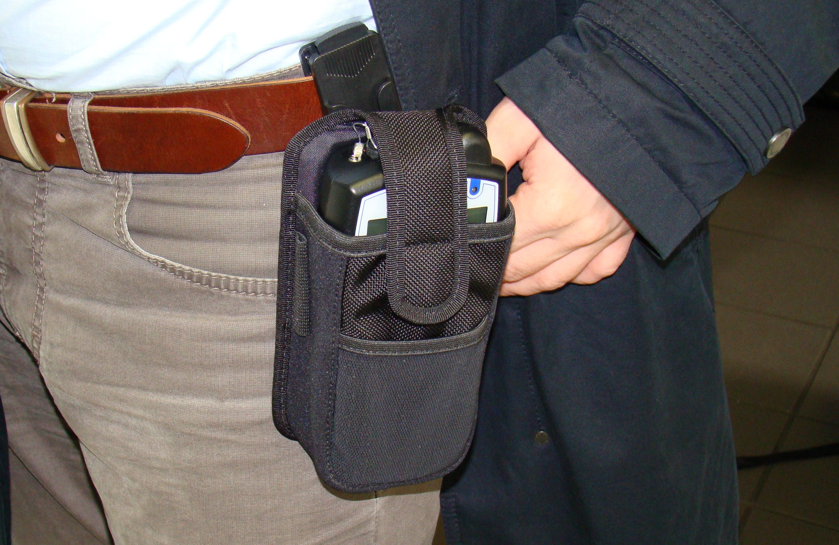New belt holster for APR500